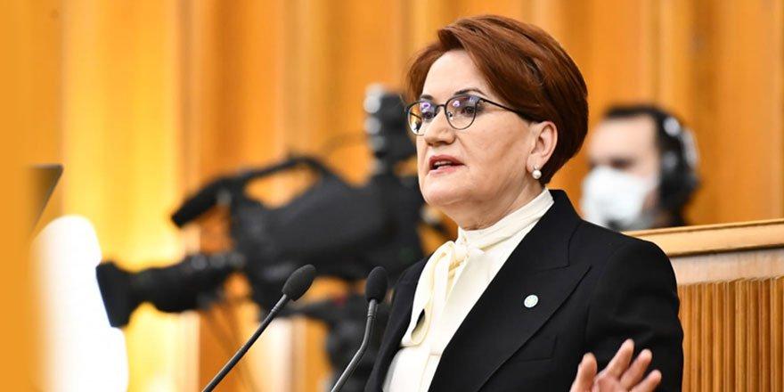 İYİ Parti lideri Meral Akşener: Bir AKP Genel Başkan  Yardımcısı'nın akıl almaz sözleriyle  şahit olduk