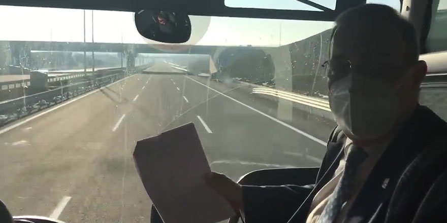CHP'li Faik Öztrak otobüsle yola çıktı! Vatandaşın cebinden kaç para çıktığını tek tek anlattı