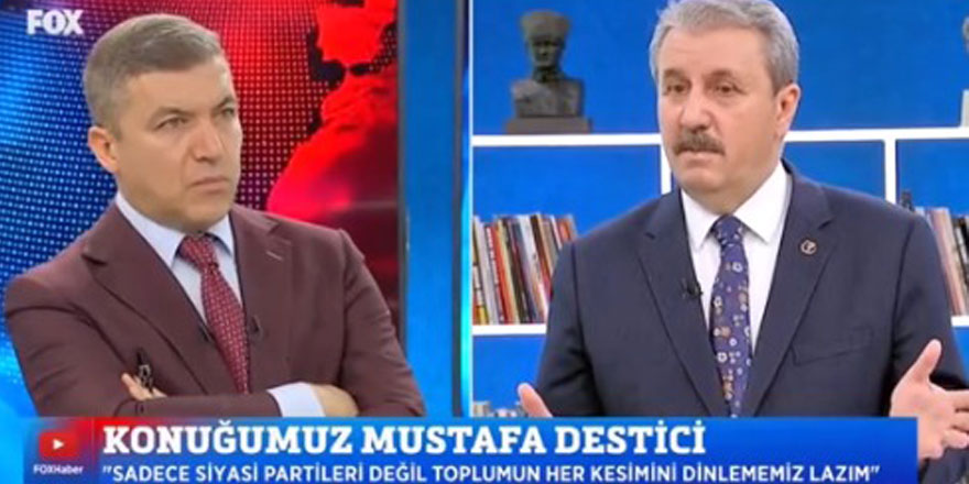 İsmail Küçükkaya iyi fikir dedi! BBP Başkanı Mustafa Destici Kılıçdaroğlu ve Akşener'e teklifini ilk kez açıkladı