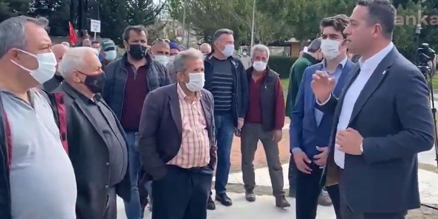 Ali Mahir Başarır: Hak arayan çiftçimize pandemi engeli, AKP'ye kongre şöleni