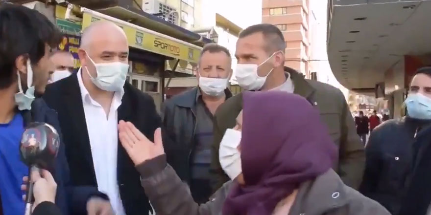 Sokak röportajında ortalık karıştı! AKP'li vatandaşın kongre tepkisi olay oldu