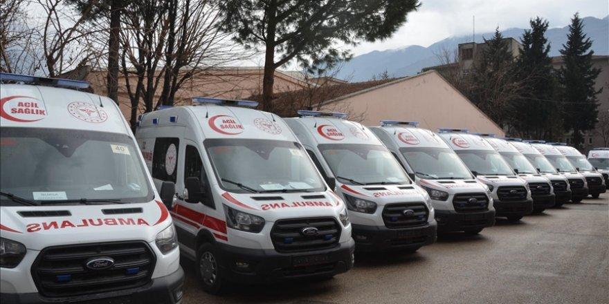 Ambulanslar için bakım ve onarım hizmeti