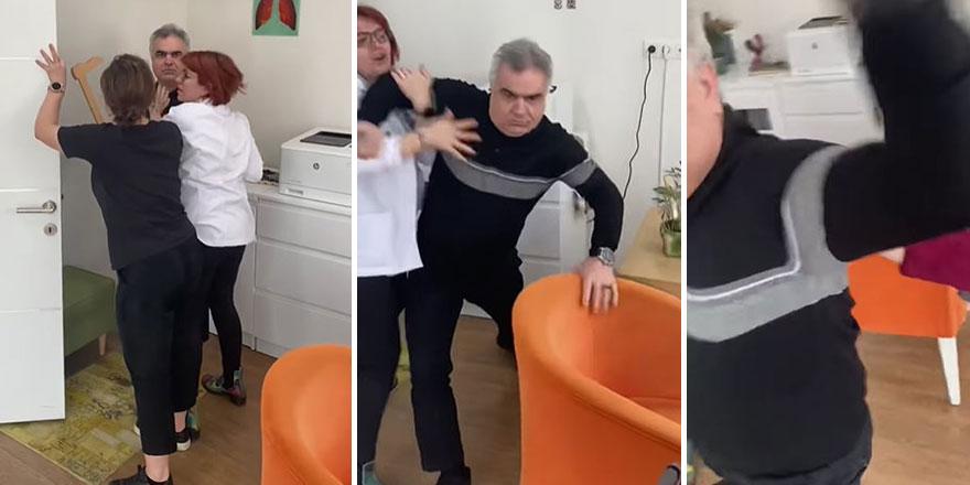 Prof. Dr. Hasan Yüksel kendi kliniğinde dehşet saçtı!  Bebeği ve eşinin yanında saldırdı