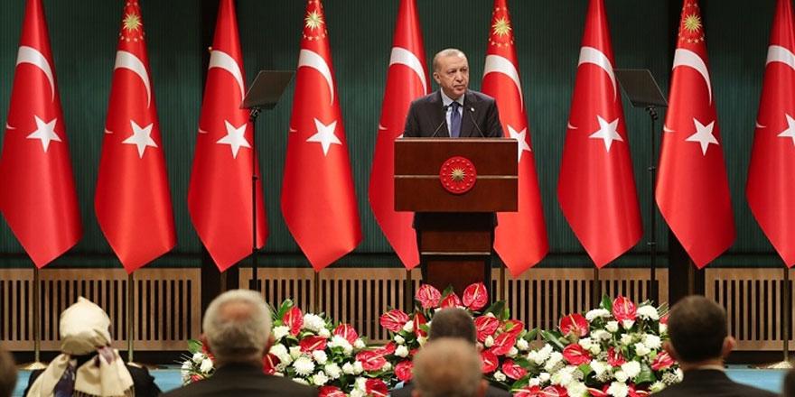 Cumhurbaşkanı Erdoğan kaldırılan ve devam eden kısıtlamaları açıkladı