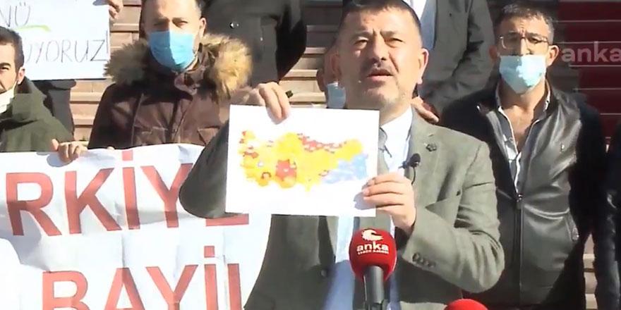 Veli Ağbaba, Erdoğan'ın gezdiği şehirlerin son durumunu paylaşarak Fahrettin Koca'ya çağrı yaptı
