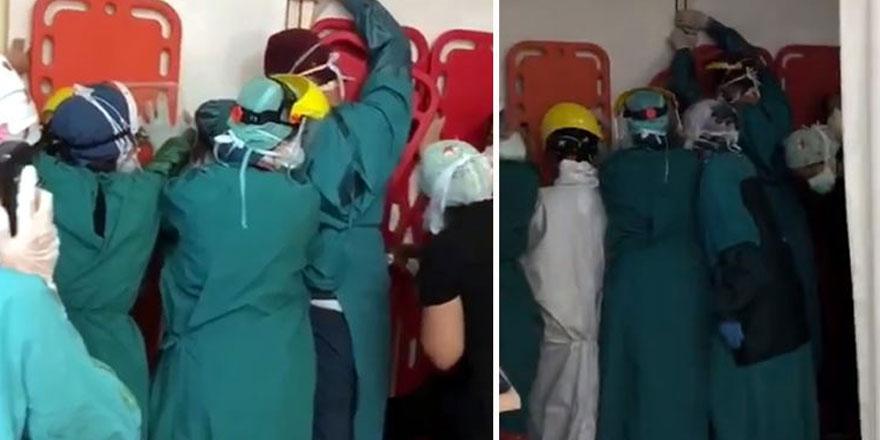 Ankara'da sağlık çalışanlarına saldıranlara ilk duruşmada tahliye!