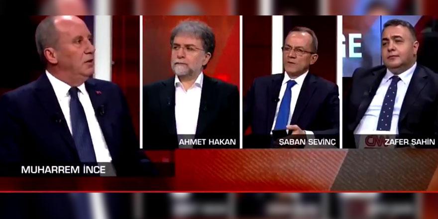 Muharrem İnce'den çok konuşulacak seçim barajı açıklaması