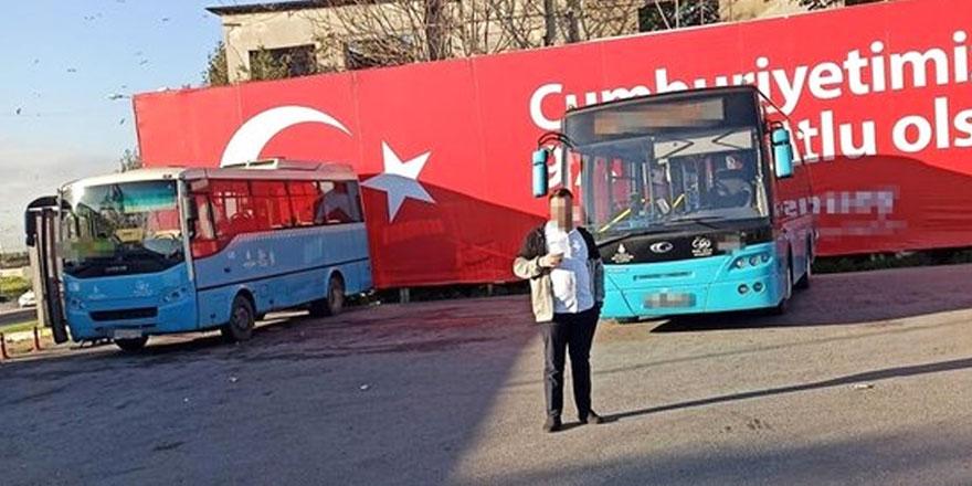 Halk otobüsünde şok! Kadın yolcuyu taciz eden şoför: Birlikte olup...