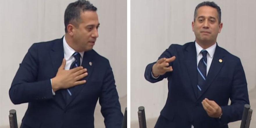CHP'li Ali Mahir Başarır AKP sıralarından yükselen 'Ağlama' seslerine öyle bir yanıt verdi ki