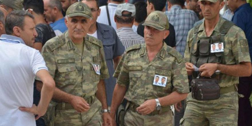 Şehit Korgeneral Osman Erbaş ünlü oyuncunun komutanı çıktı