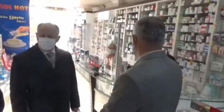 Zonguldak Ereğli Kaymakamı İsmail Çorumluoğlu'nun tepki çeken görüntüleri