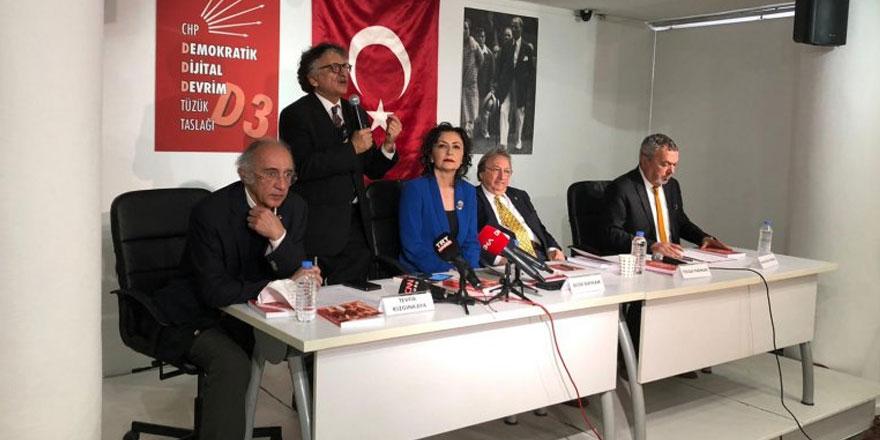CHP için hazırlanan 'Demokratik Dijital Devrim tüzüğü' tanıtıldı