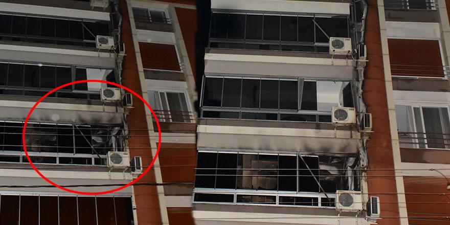 İzmir Torbalı Belediye Başkanı İsmail Uygur'un apartmanında yangın çıktı!