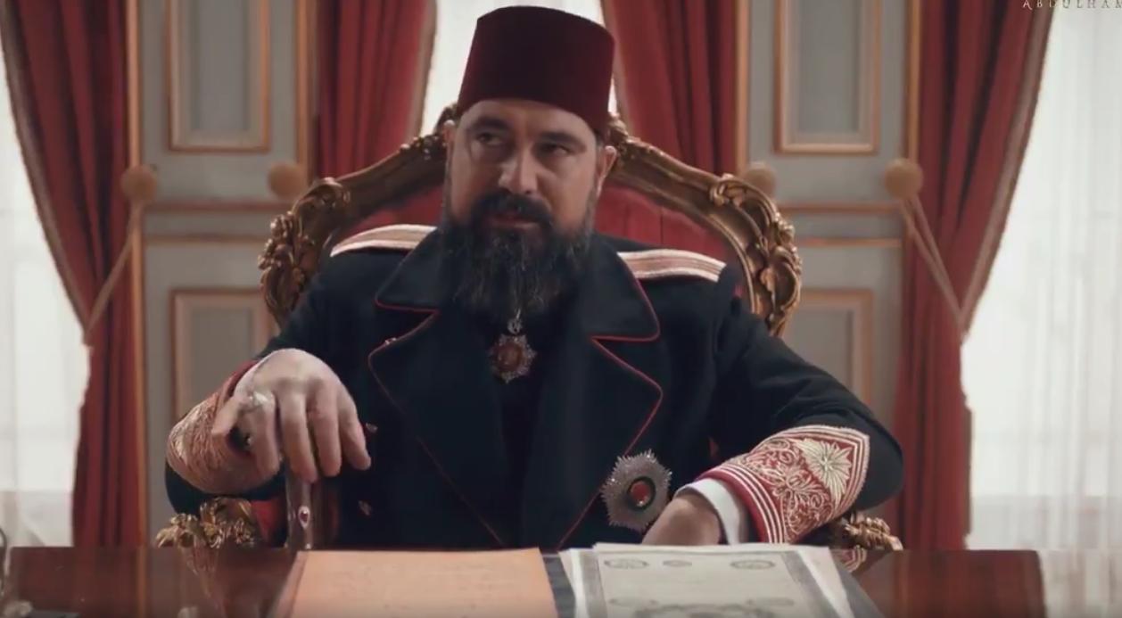 Erdoğan'ın reform açıklamalarının ardından TRT'nin Payitaht Abdülhamid dizisinde dikkat çeken sahne