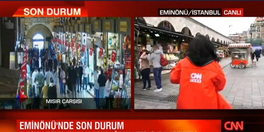 CNN Türk muhabiri Sema Akbulut'a canlı yayında taciz