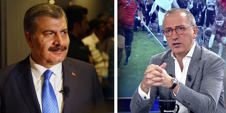Fatih Altaylı'dan Fahrettin Koca'ya olay sözler
