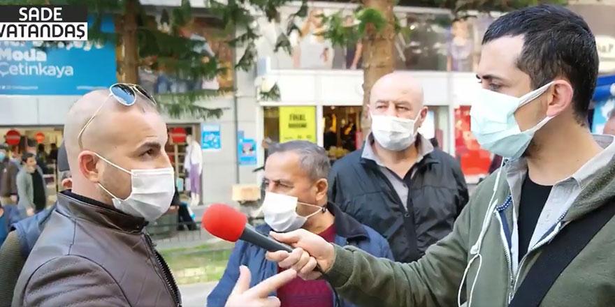 AKP'li vatandaştan parası olmayanlara ilginç tavsiye!Ya hırsızlık ya da...
