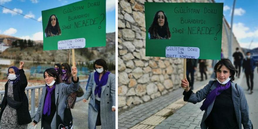 Tunceli'de kaybolan Gülistan Doku'nun ailesi adliyeye yürüdü