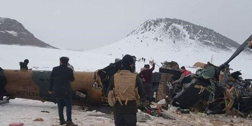 MSB, Bitlis'teki askeri helikopter kazasının nasıl meydana geldiğini açıkladı