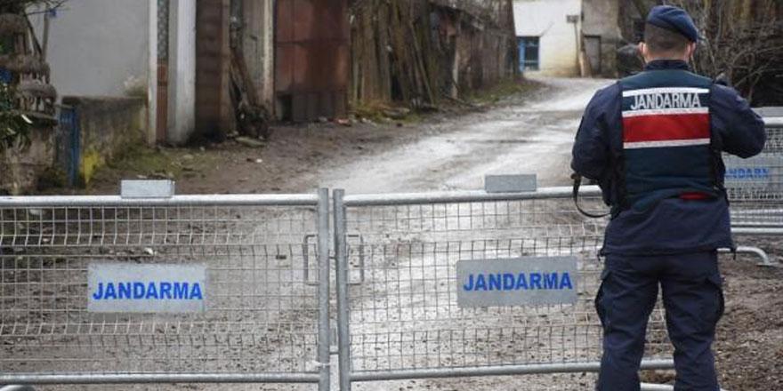 Adıyaman'da bir köye korona virüs karantinası