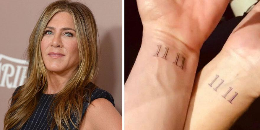 Jennifer Aniston dövmesinin anlamını ifşa etti