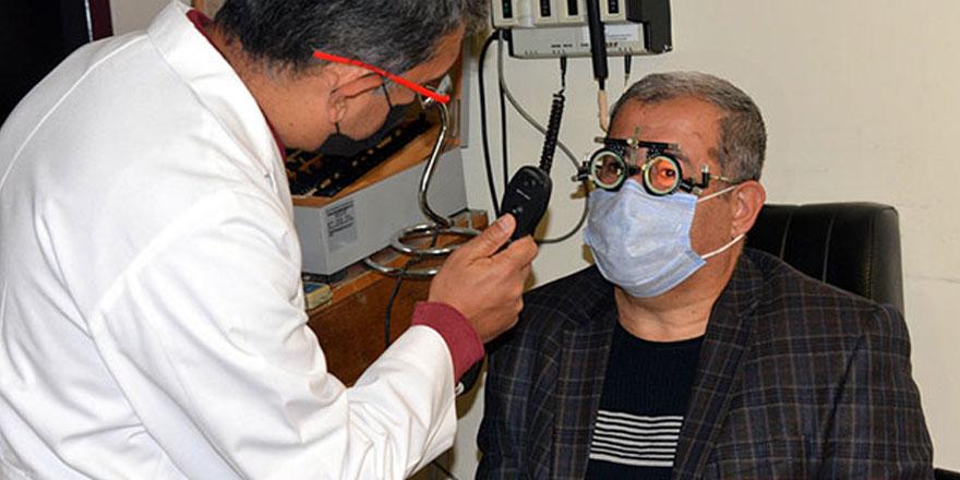 Kahramanmaraş'ta yaşayan Metin Çuhadar korona virüs nedeniyle bir gözünü kaybetti