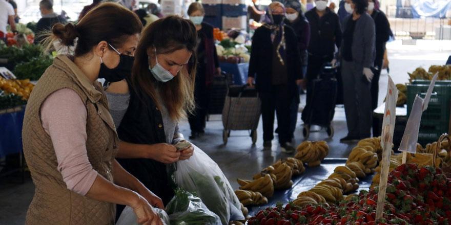 Keşan'da halk pazarı süresiz kapatıldı