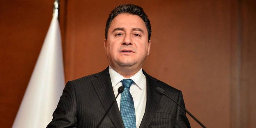Ali Babacan: Yeni anayasadan herkes başka şeyler anlıyor