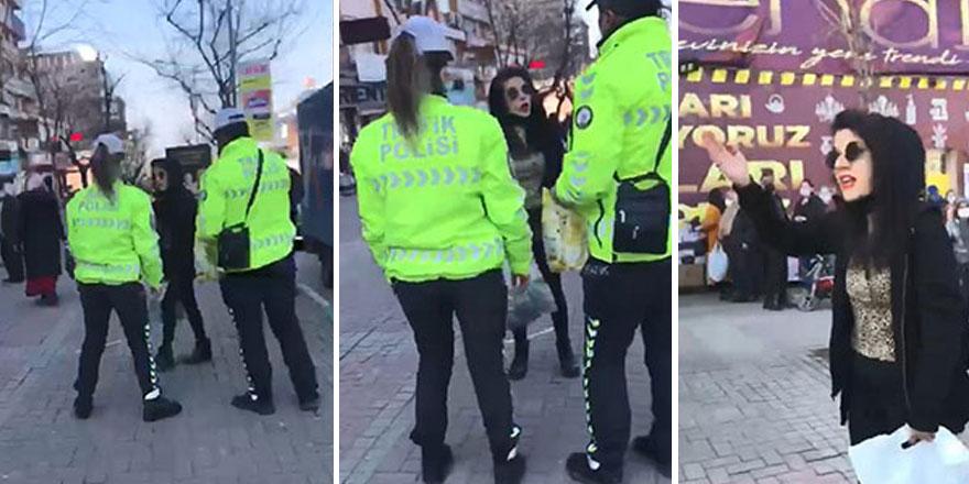 Bursa'da maske takmayı reddeden kadın kendini böyle savundu