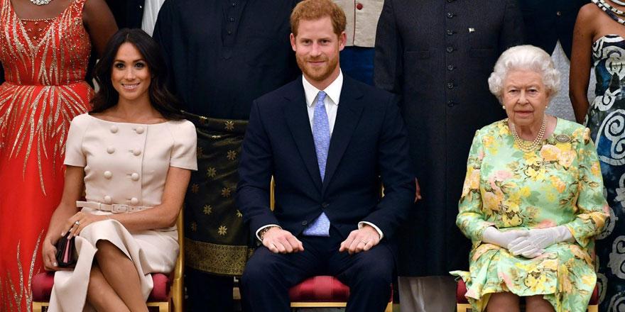 İngiltere Kraliçesi Elizabeth'ten Prens Harry ve Meghan Markle'ın röportajına açıklama geldi
