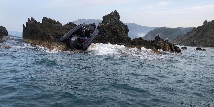 Mersin'in Anamur açıklarında 19 göçmen kurtarıldı!