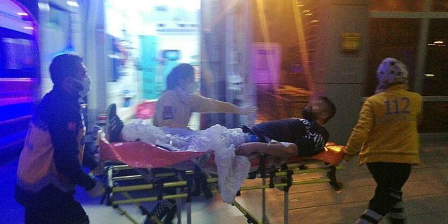 Samsun'da ev sahibini bacaklarından vurdular!