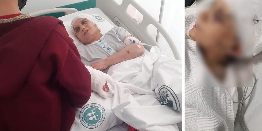 Kocaeli'nin Darıca ilçesinde yaşayan Osman Taştan isimli erkek evli olduğu Naciye Taştan'ı satırla yaraladı