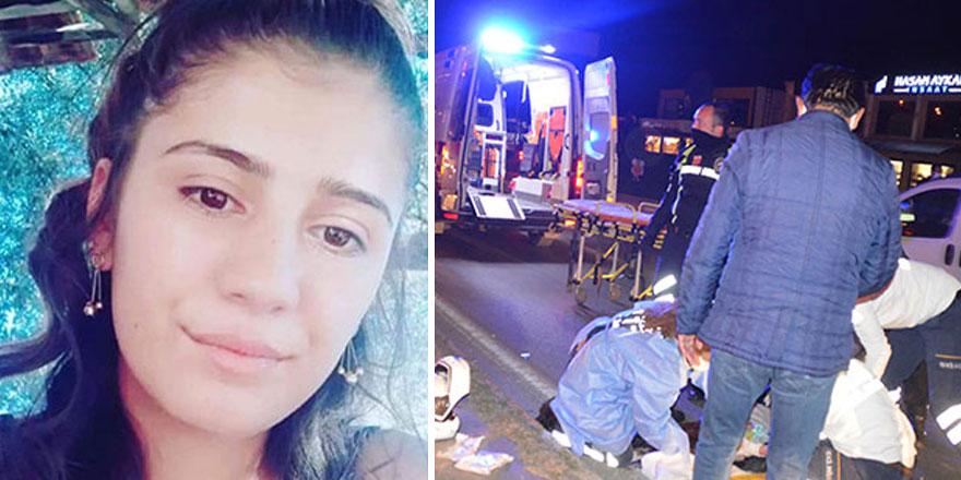 Bodrum'da yolun karşısına geçmek isteyen Gamze Çetinkaya'dan acı haber