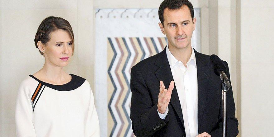 Suriye Devlet Başkanı Beşar Esad ile eşi Esma Esad Rusya'ya götürüldü