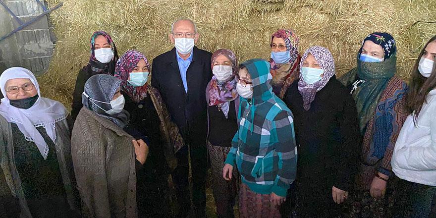 CHP Lideri Kemal Kılıçdaroğlu Uşak'ta esnafı ziyaret etti!
