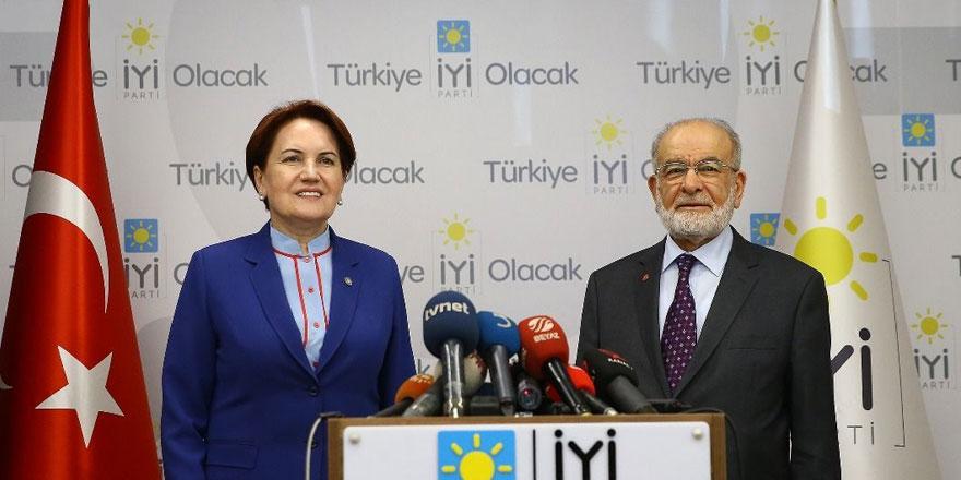 Temel Karamollaoğlu'ndan Meral Akşener'e destek