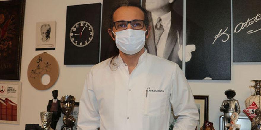 Samsun'da görev yapan 23 yıllık Dahiliye Uzmanı Dr. Volkan Konya'dan korona virüs itirafı