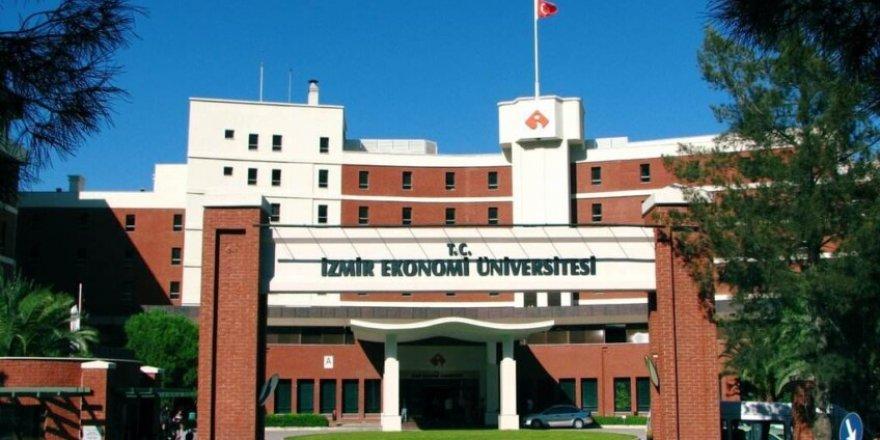 İzmir Ekonomi Üniversitesi açıkladı