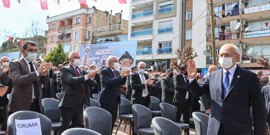 CHP lideri Kılıçdaroğlu Manisa'da açıkladı: Bütün belediye başkanlarımızdan istiyoruz