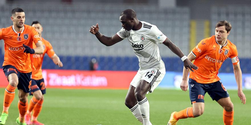 Başakşehir - Beşiktaş maçında gol düellosu