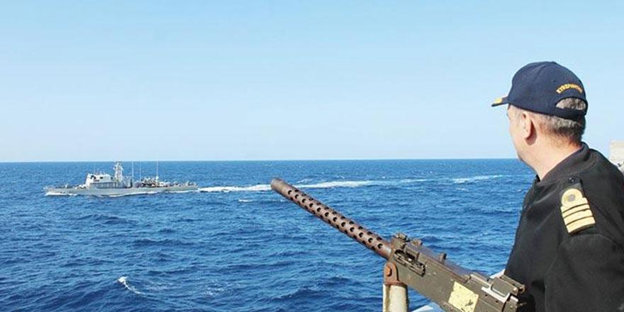 Türkiye'ye karşı dörtlü deniz tatbikatı gerçekleştirdiler