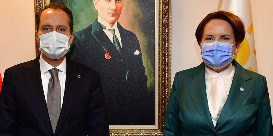 Fatih Erbakan'dan Meral Akşener'e ziyaret