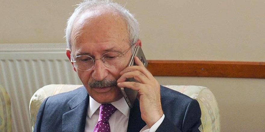 Kılıçdaroğlu'ndan Bakan Soylu'ya taziye telefonu