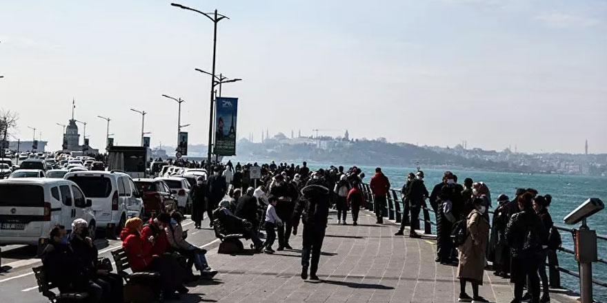 İstanbul'da 'kısıtlamasız cumartesi' yoğunluğu yaşanıyor