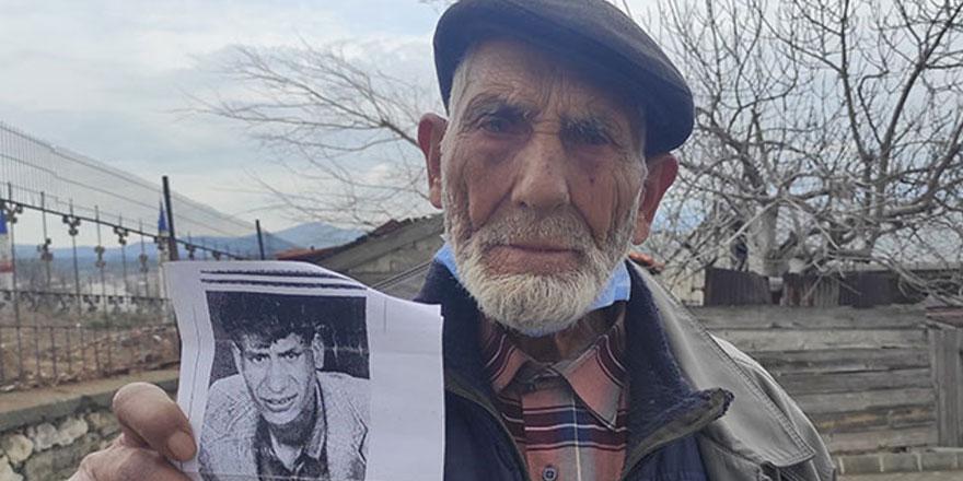 Bahri Uyanık 25 yıldır kayıp oğlu Erol Uyanık'ı arıyor