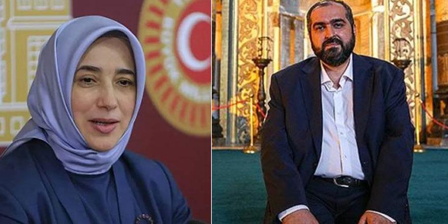 Ayasofya imamı Mehmet Boynukalın'dan Özlem Zengin'e cevap