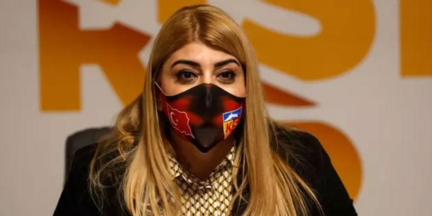 Kayserispor Başkanı Berna Gözbaşı'dan sert tepki