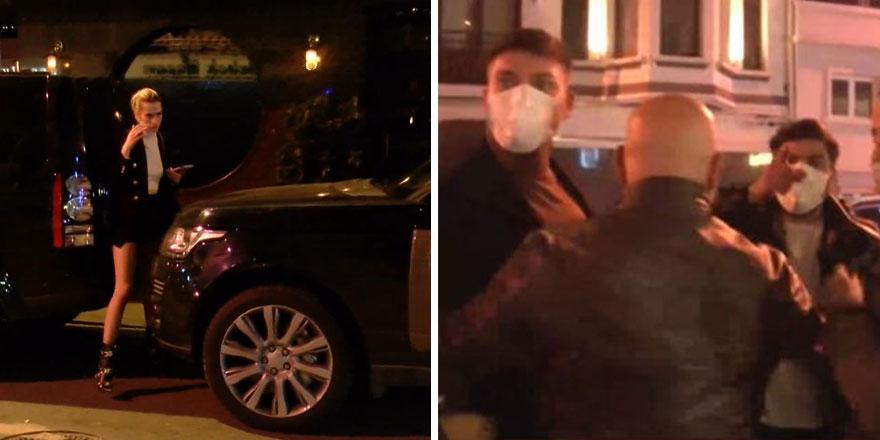 Bebek'te boğaz manzaralı otelde korona partisi yapıp görüntü alan gazetecilere saldırdılar