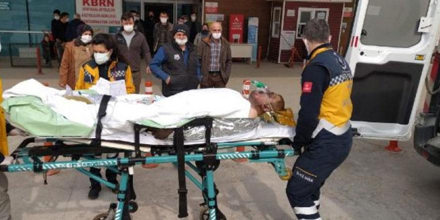 Taş ocağındaki trafoda patlama! 1 kişi ağır yaralı